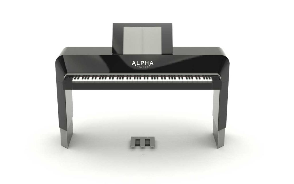 The Studio, part of the ALPHA Pianos product collection