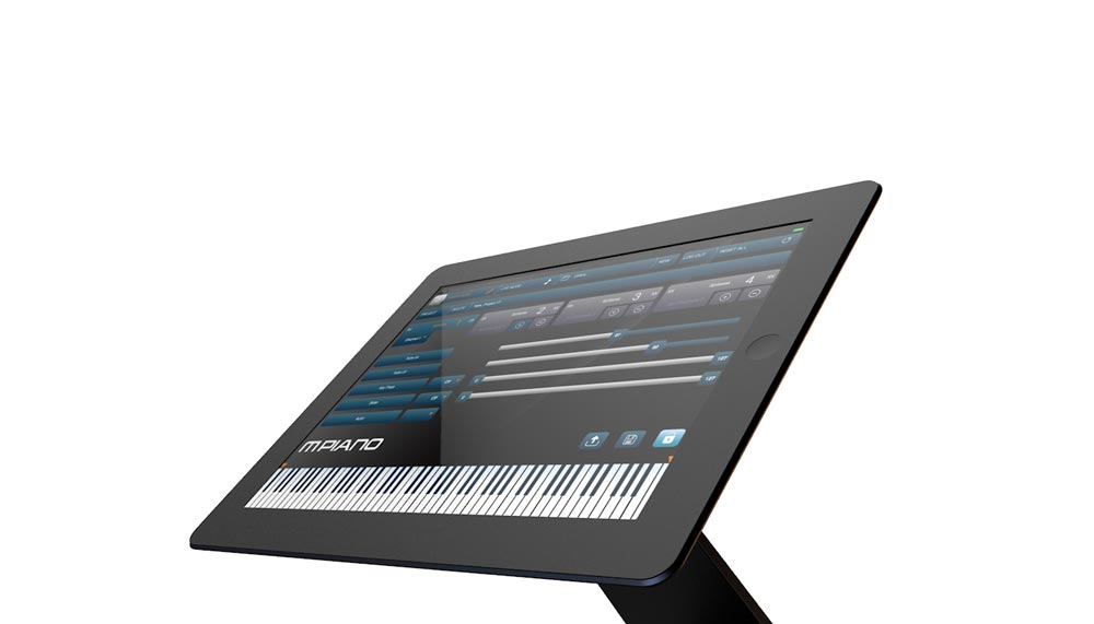 mPiano iOS App, part of the ALPHA Pianos product collection
